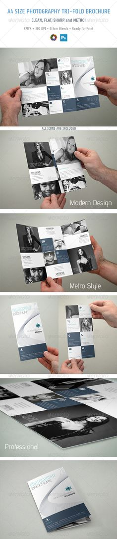 Photography Trifold Brochure - Brochures Print Templates