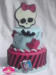 Resultado de imagen para monster high torta cumpleaños