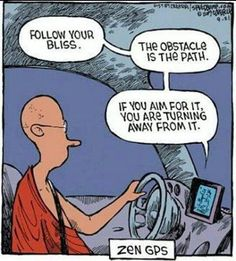 DownDog Funnies: Zen GPS...From the Downdog Diary Yoga Blog found exclusively at DownDog Boutique.