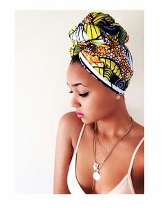 Headwrap - protective style                                                                                                                                                                                 More