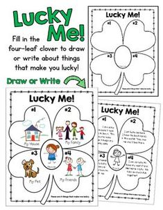Lucky Me FREEBIE:  A Free St. Patrick\'s Day Activity For All Ages