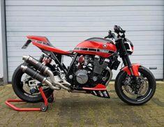 Yamaha Cafe Racer, Yamaha Motorcycles, Cafe Racer Motorcycle, Xjr 1300, Cafe Racing, Custom Cafe Racer, Hot Bikes, Classic Bikes, Super Bikes