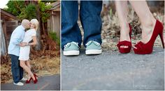 engagement shoe shot <3