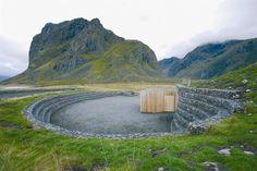 Tittel: Eggum, Lofoten  Arkitekt: Snøhetta AS