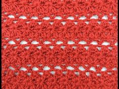 Crochet: Punto Combinado # 16 - YouTube