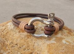 Bow Shackle Bracelet Construction Worker by kasual2klassy on Etsy, $25.00
