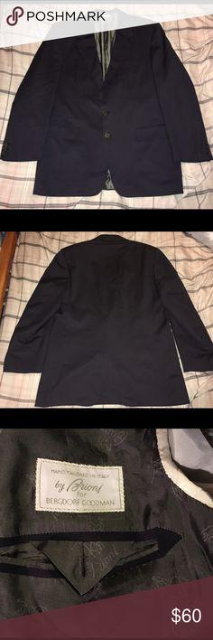 Brioni Biella 2 Button Blazer Sport Coat Length 32  Chest 22  Sleeve 24  Shoulder 19 Brioni Suits & Blazers Sport Coats & Blazers