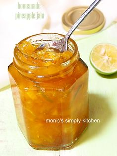 resep selai nanas homemade Jam Recipes, Cooking Recipes, Roti Bread, Happy Cook, Pineapple Jam, Marmalade Recipe, Fruit Preserves, Indonesian Food, Cooking Time