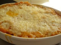 Pumpkin and Goats Cheese Gratin.  I tasted one last night with cheddar, but this goat cheese looks fantastic!