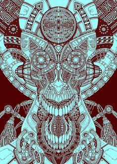 :) #visionaryart #art #trippy #psychedelic #colorful