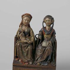 Anna-te-drieen, , ca. 1525 - Rijksmuseum
