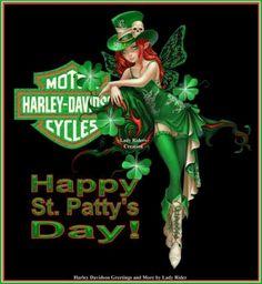 HARLEY DAVIDSON ST.PATTY.S. DAY