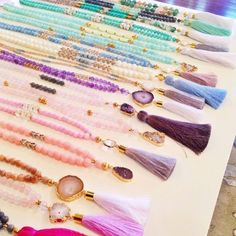 you need to get you some tassel necklaces! KK Bloom Boutique