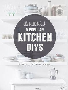 The Truth Behind 5 Popular Kitchen DIYs
