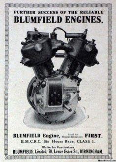 vintage Motorcycle engines   Blumfield Vintage Motorcycle Engine