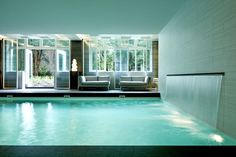 #Schwimmbad Indoor swimming pool in Amsterdam www.bsw-web.de #Pool planen