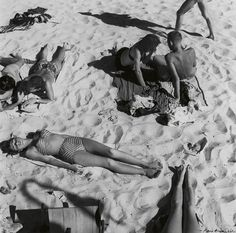 Max Dupain Forms on the Beach 1940