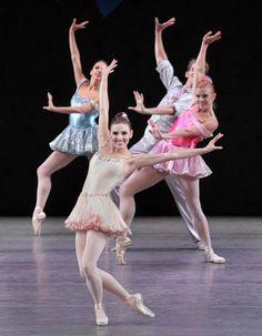Tiler Peck in Balanchine's Who Cares? (New York City Ballet)