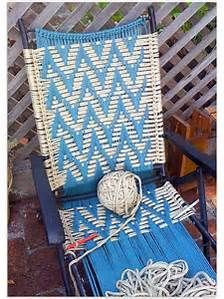 lawn chair weaving patterns - Bing images