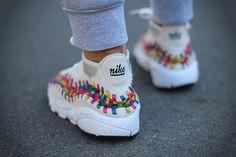 Yanice Liheouil - Nike Air Footscape Woven Rainbow