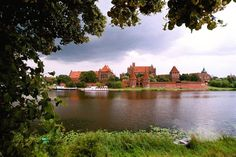 Castle in Malbork, Poland Lithuania, Poland, Baltic Sea, Central Europe, Czech Republic, Beautiful World, Castle, Germany, River
