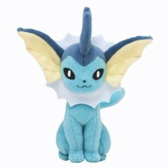 Pokémon Center Original Plush Doll Sitting Trick Pose Vaporeon *** See this great product. (This is an affiliate link) Pokemon Toy, Pokemon Fan Art, New Pokemon, Pokemon Birthday, Pokemon Party, Evolution Pokemon, First 150 Pokemon, Deadpool Pikachu, Plush Animals