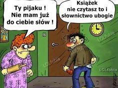 LOLfobia: Rysunkowy humor małżeński...:) Keep Smiling, Man Humor, Family Guy, Comic Books, Guys, Comics, Funny, Fictional Characters, Facebook