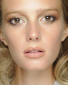 Braut Make-up für braune Augen - Bilder