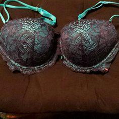 Pink victoria secret bra Pink victoria secret date push up bra 36d PINK Victoria's Secret Intimates & Sleepwear Bras