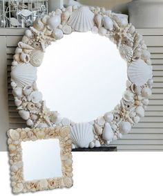 Online shopping from a great selection at Shells Group Store. Seashell Art, Seashell Crafts, Seashell Projects, Shell Decorations, Shell Frame, Sea Crafts, Pallet Art, Deco Table, Beach House Decor