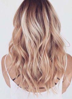 Beachy Blonde Hairstyles 2018