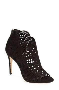 online shopping for Klub Nico 'Mirelle' Cutout Bootie (Women) from top store. See new offer for Klub Nico 'Mirelle' Cutout Bootie (Women) Bootie Boots, Ankle Boots, Shoes 2014, Fall Shoes, Pretty Shoes, Me Too Shoes, Top Shoes, Fashion Shoes, Fall Fashion