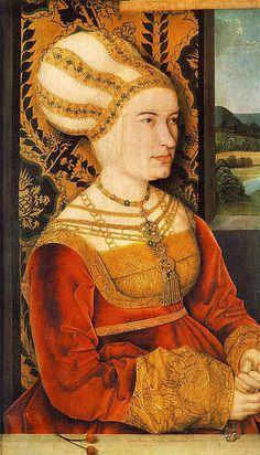 Portrait of Sibylla (or Sybilla) von Freyberg (born Gossenbrot), Bernhard Strigel, 1515