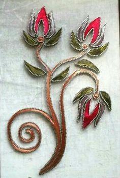 Arte Linear, Clay Wall Art, String Art Patterns, Prego, Green Wallpaper, Beaded Brooch, Crochet Art, Crochet Blouse, Wire Art