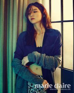 Yi Som // Marie Claire Korea // July 2013