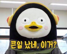 내가 보고싶어 올리는 펭수짤:) : 네이버 블로그 Shows, Donald Duck, Penguins, Disney Characters, Fictional Characters, Illustrations, Memes, Illustration, Meme