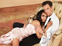 Olivia & Fritz. Lets not act like #Scandal isn't one of the reasons why the love for white men is on the rise. #DamnIlovethiscouple