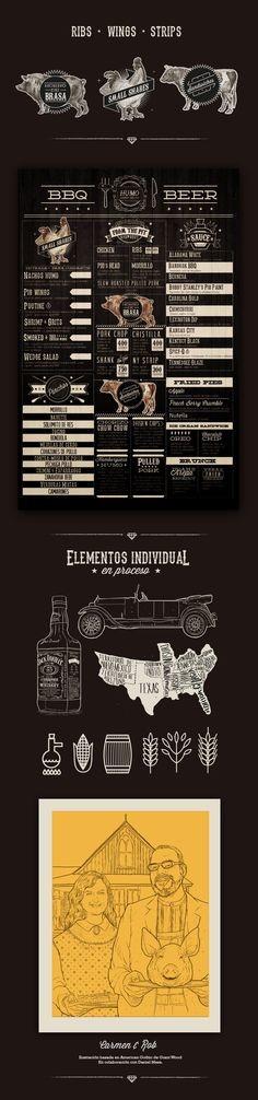 identity / Southern BBQ / Humo by Mateo Rios