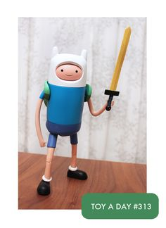 """Adventure TIme 10"""" Deluxe Finn with changing faces"""