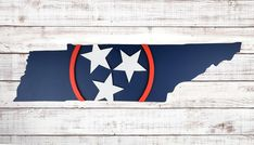 Vintage Flowers Wallpaper, Flower Wallpaper, State Of Tennessee, Navy Blue Background, Wood Design, Hangers, Nashville, Pride, Things To Come