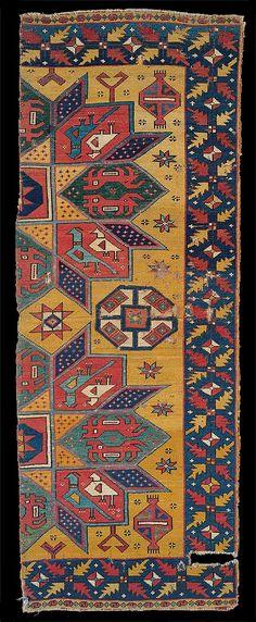 Batári Crivelli carpet fragment, Iparművészeti Múzeum, Museum of Applied Arts, Budapest, , 15th century