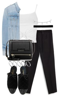 """""""Untitled #3403"""" by theeuropeancloset on Polyvore featuring Zara, Topshop, rag & bone, Givenchy, Chanel, ASOS and Bartoli"""