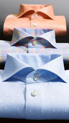 Neu bei HIRMER in der 3. Etage: exklusive Businesshemden vom schwedischen Premiumlabel ETON!