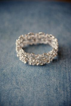 If I had to get just a plain wedding band, without a rock on it, I would most DEFINITELY get something like this. So pretty!! :) <3