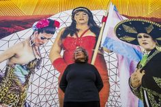 Chicana artist Yolanda López, raising awareness about evictions in San Francisco, through making art of her own eviction - having a garage sale in a gallery.