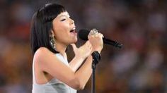"""Image copyright                  Getty Images                  Image caption                     Australia's Eurovision song is performed by Korean-Australian singer Dami Im   Australia's entry for the Eurovision Song Contest has been cleared of breaching rules on product placement. Dami Im's song, Sound Of Silence, features the lyric """"trying to feel your love through face time,"""" which some have interpreted as a reference to Ap"""