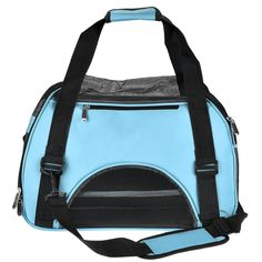 Yerwal Portable Pet Carrier Messenger Bag Airline Approved Travel Crate Tote for Pet Dog Cat *** You can get more details here : Dog carrier