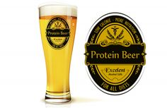 Proteínové pivo Protein Diets, Alcohol, Beer, Nutrition, Tableware, Glass, Medical, High Protein Diets, Rubbing Alcohol
