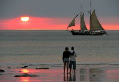 Sunset over Cable Beach - Best beaches in Australia to visit!