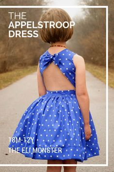 The Appelstroop Dress Sewing Pattern, Sized - Sewing Patterns at Makerist Easy Sewing Projects, Sewing Projects For Beginners, Sewing Ideas, Sewing Crafts, Vintage Sewing Patterns, Clothing Patterns, Dress Patterns, Pattern Sewing, Kids Clothing